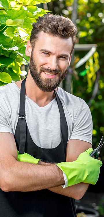le service de jardinage
